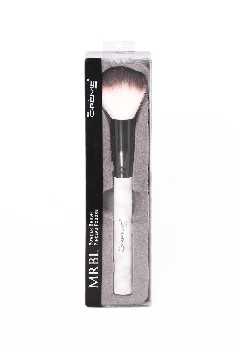 MRBL Collection: Powder Brush - Marble