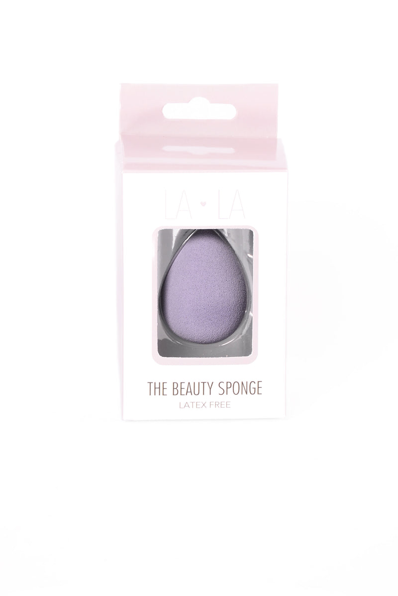 Teardrop Beauty Blending Sponge - Purple
