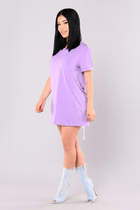 Punk Rock Dress - Lavender