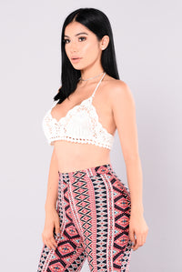 Desert Girl Crochet Top - Ivory