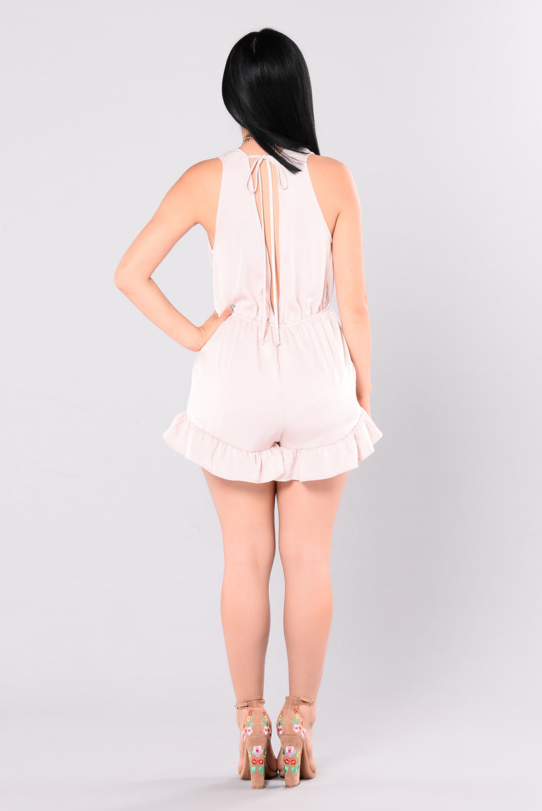 Softest Love Romper - Blush