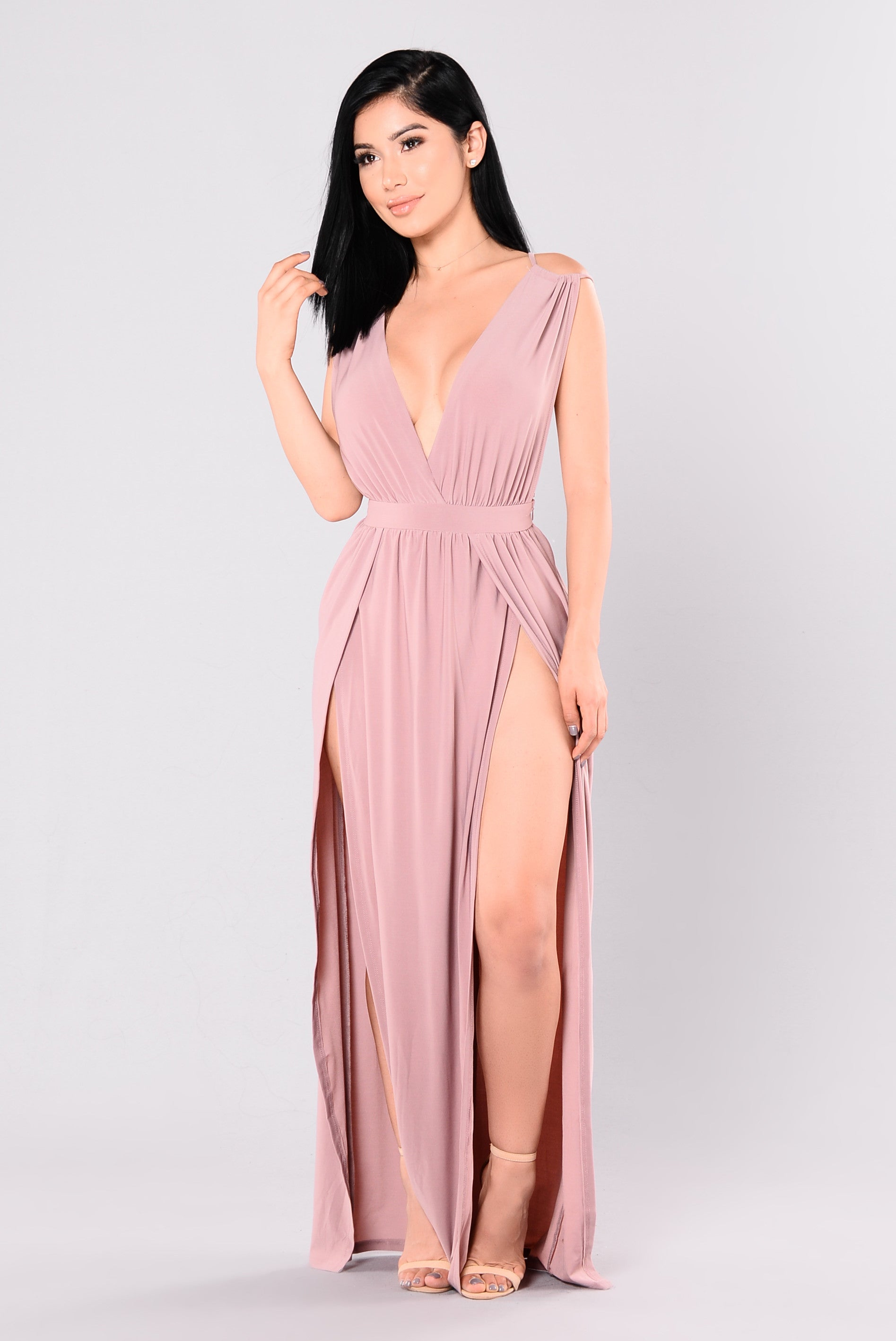 Lilac dress. What to wear 7