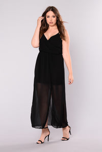 Alba Maxi Dress - Black
