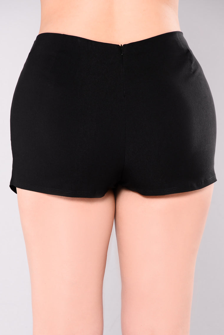 You Are Love Shorts - Black