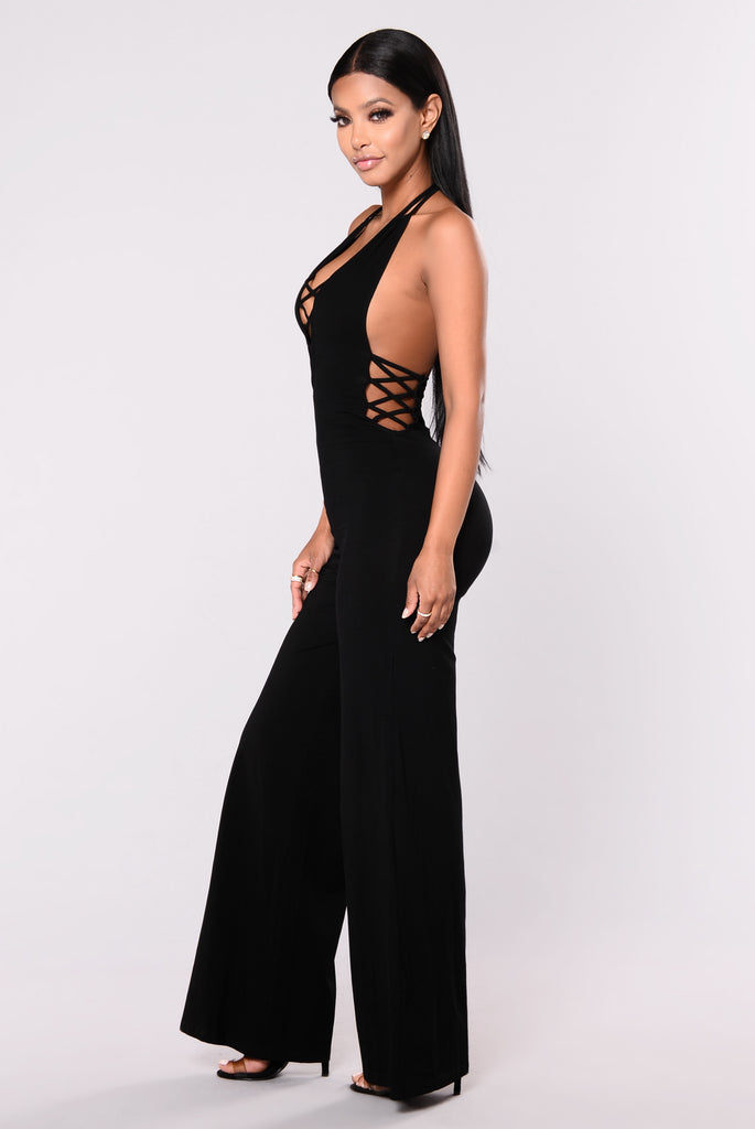 Shivani Jumpsuit - Black