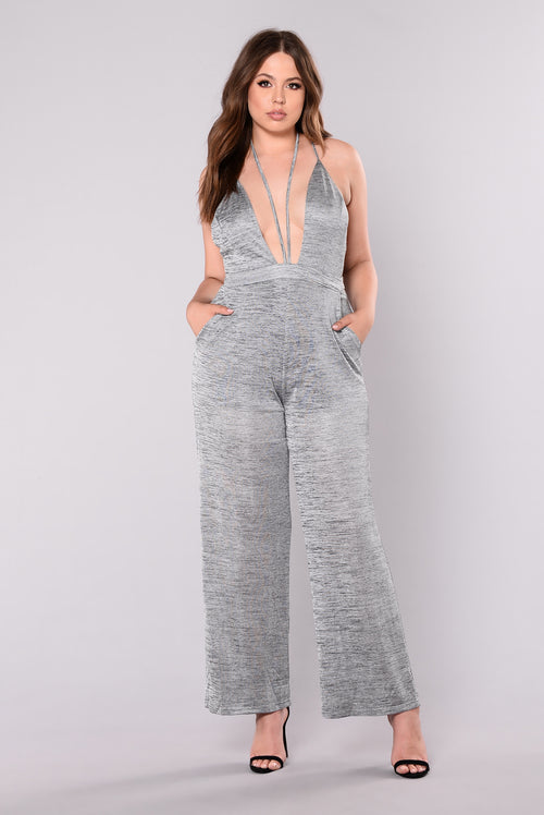 Girl Bye Jumpsuit - Grey
