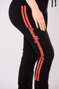 Hollywood Girl Pants - Black