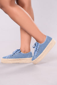It's All In Good Fun Sneaker - Denim