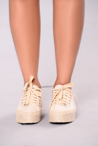 It's All In Good Fun Sneaker - Khaki