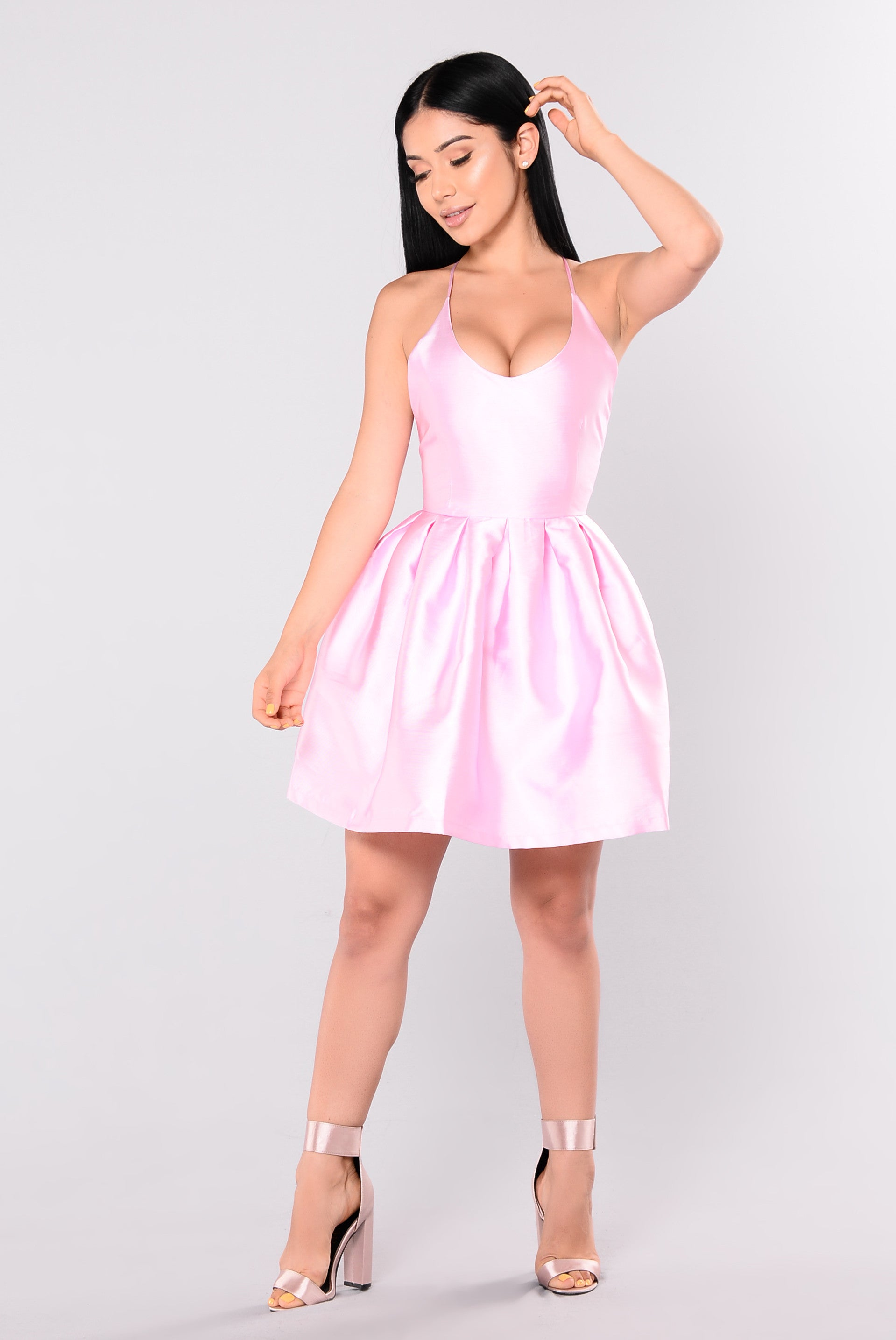 88436d54a03 Birthday Party Dress - Pink
