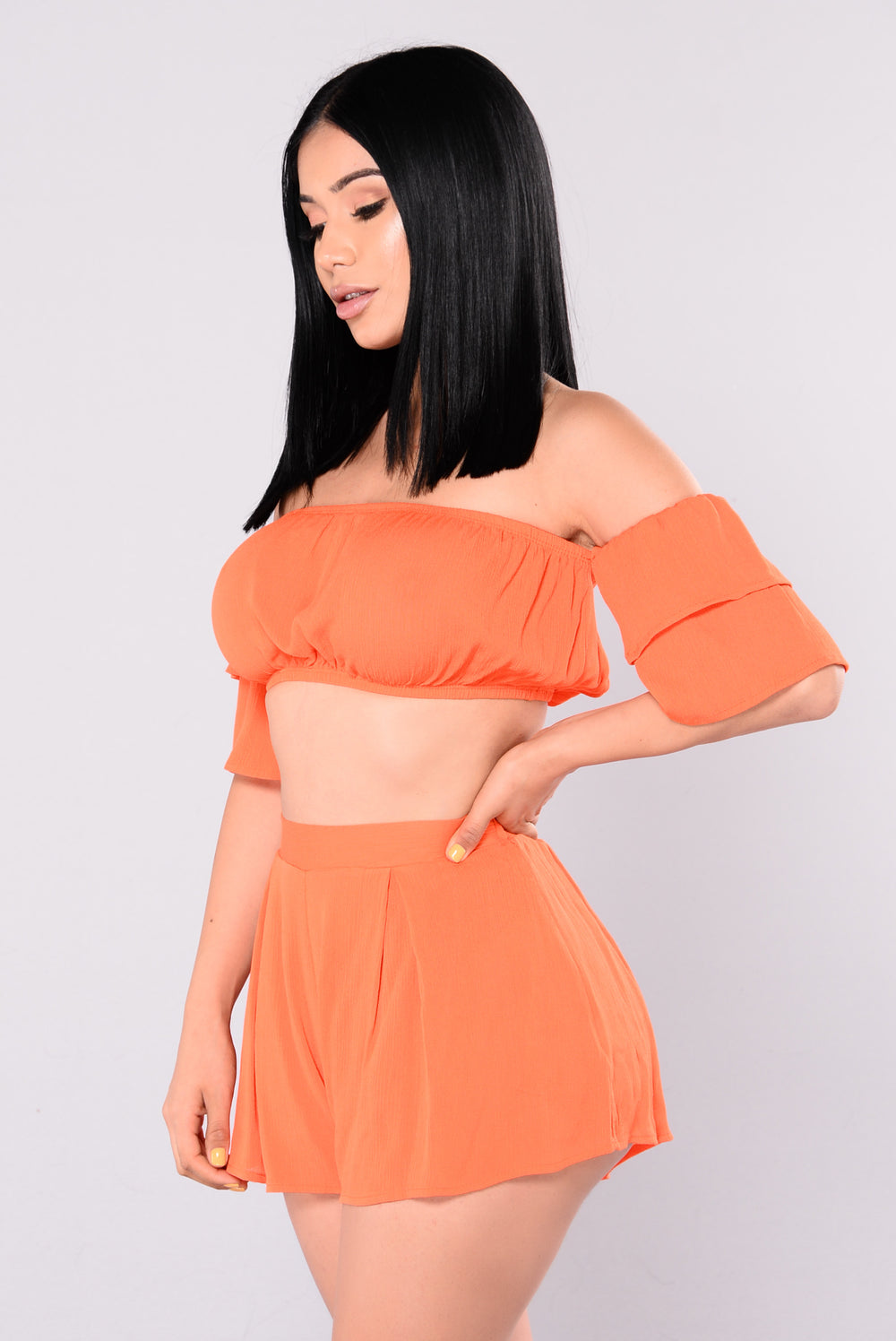 Rosie Top - Orange