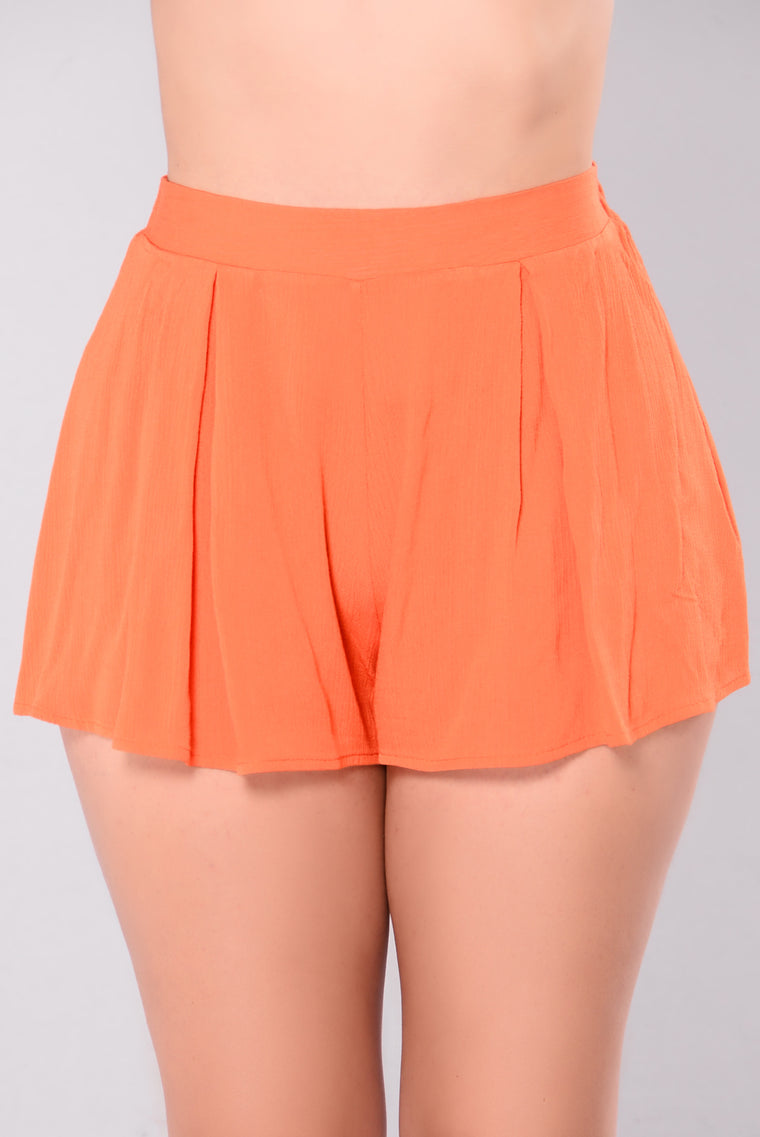 Rosie Shorts - Orange