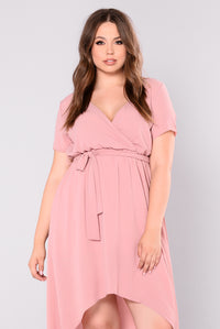 Alanis Maxi Dress - Mauve