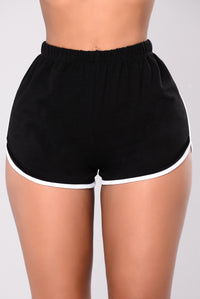 Liah Shorts - Black/White