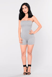 Buenos Aires Romper - Grey Angle 6