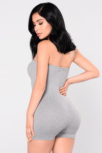 Buenos Aires Romper - Grey Angle 8
