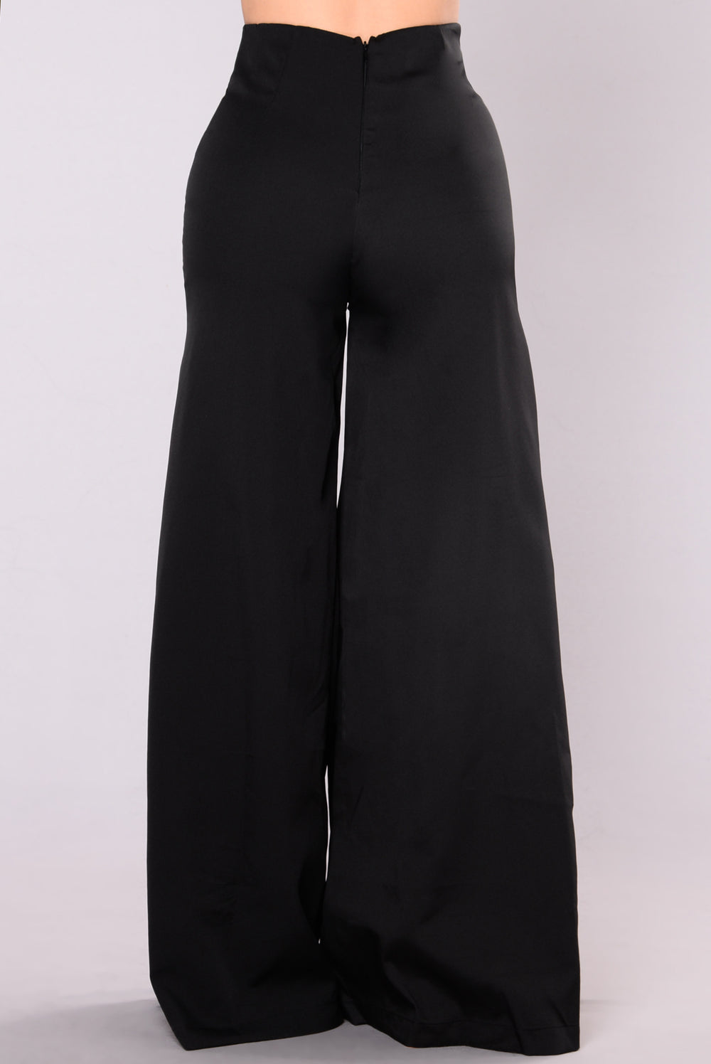 Odelia Wide Leg Pants - Black