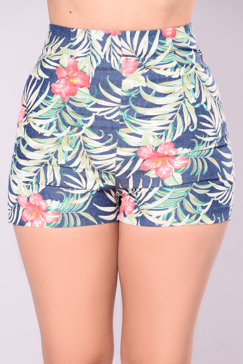 Yvette Shorts - Tropical