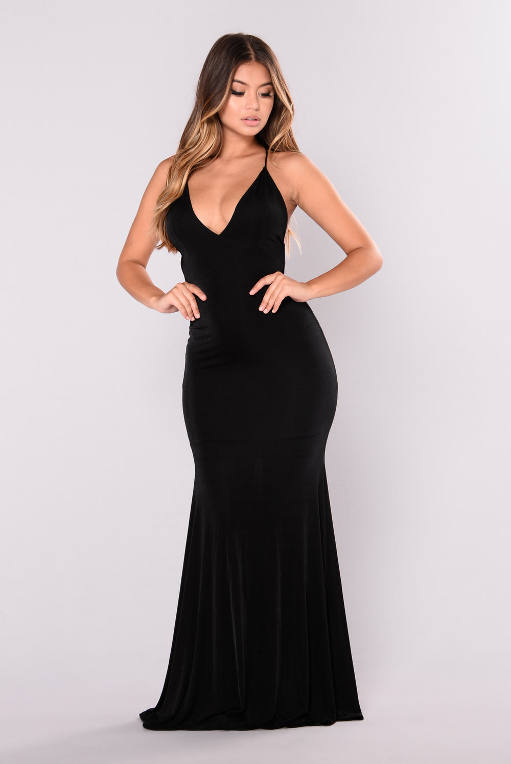 Dress Me Up Max Dress - Black