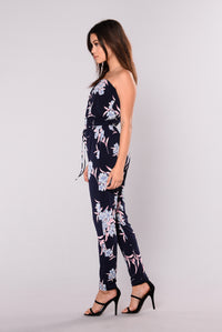Be Your Baby Jumpsuit - Navy
