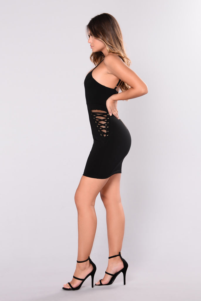 Make Them Jealous Dress - Black
