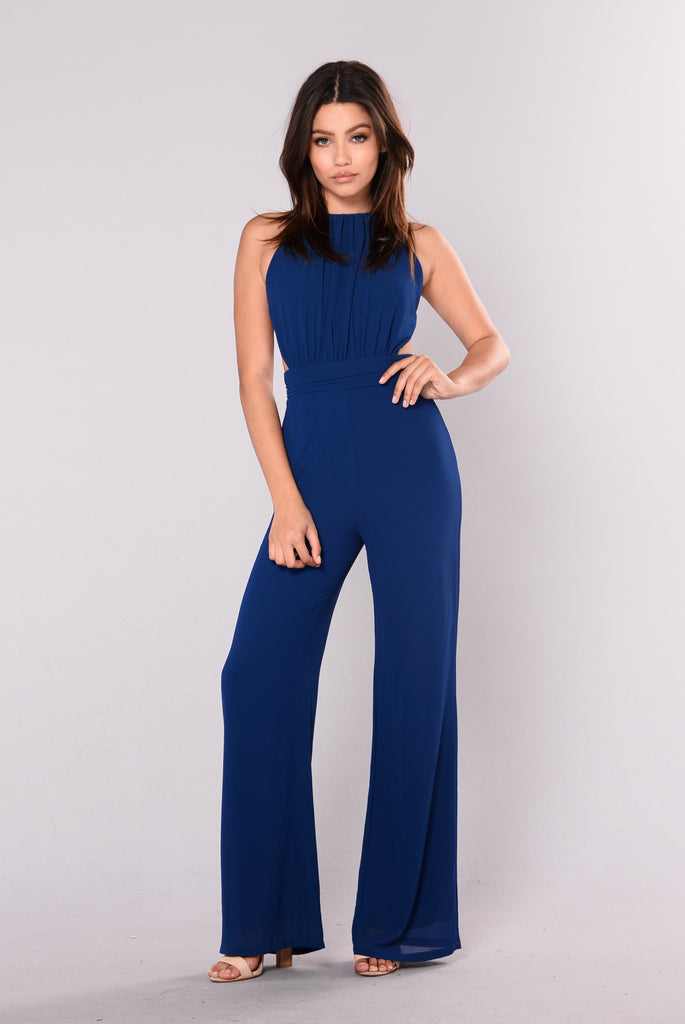 Angie Jumpsuit - Navy