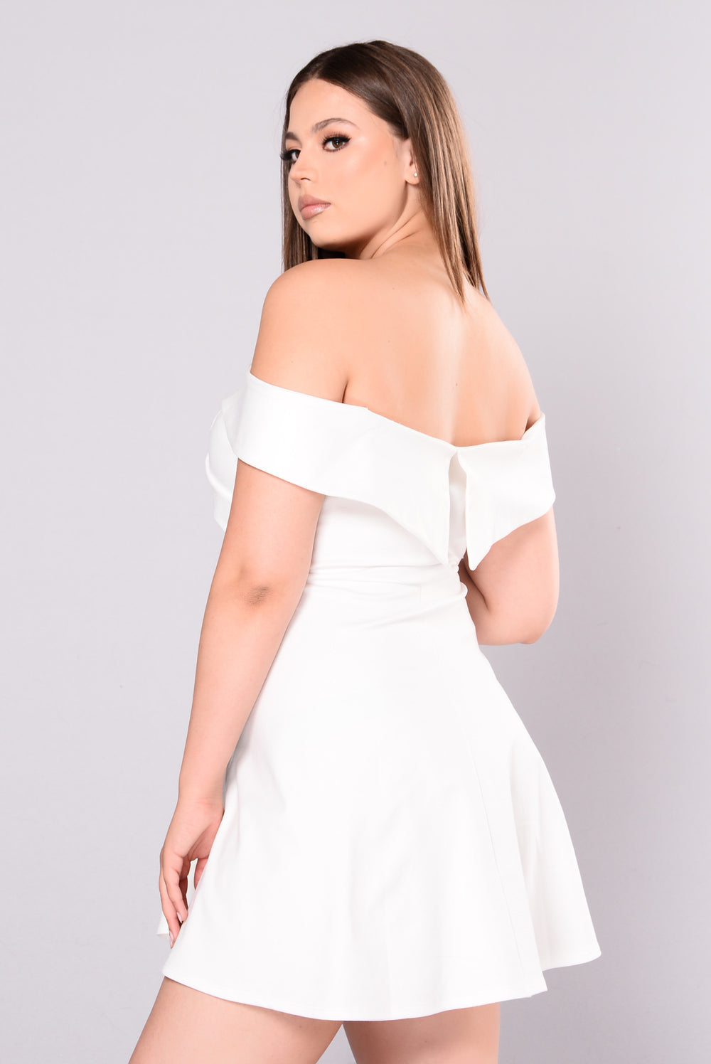 Take Care Dress - White