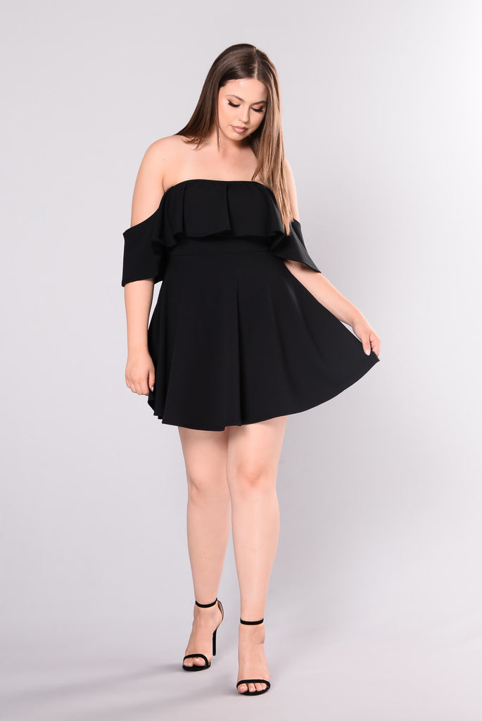 Make Me Proud Dress - Black
