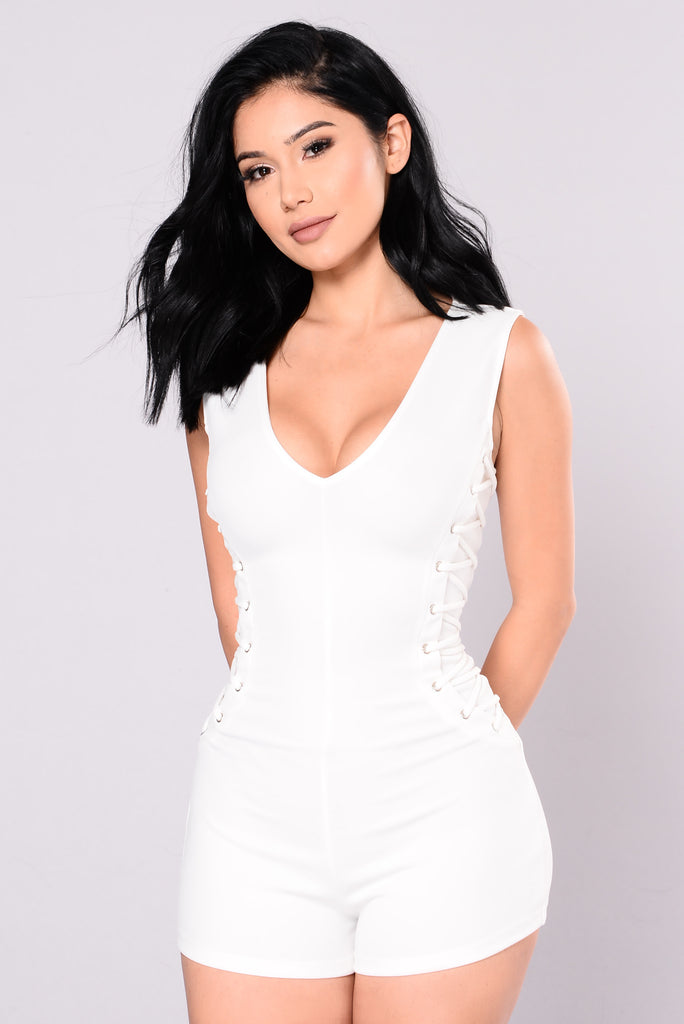 Princess Is Here Romper - Ivory
