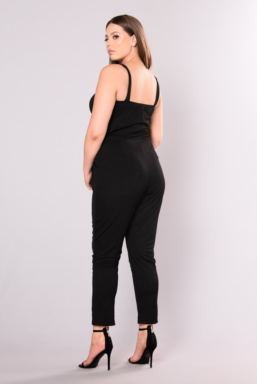 Feeling Yourself Jumpsuit - Black