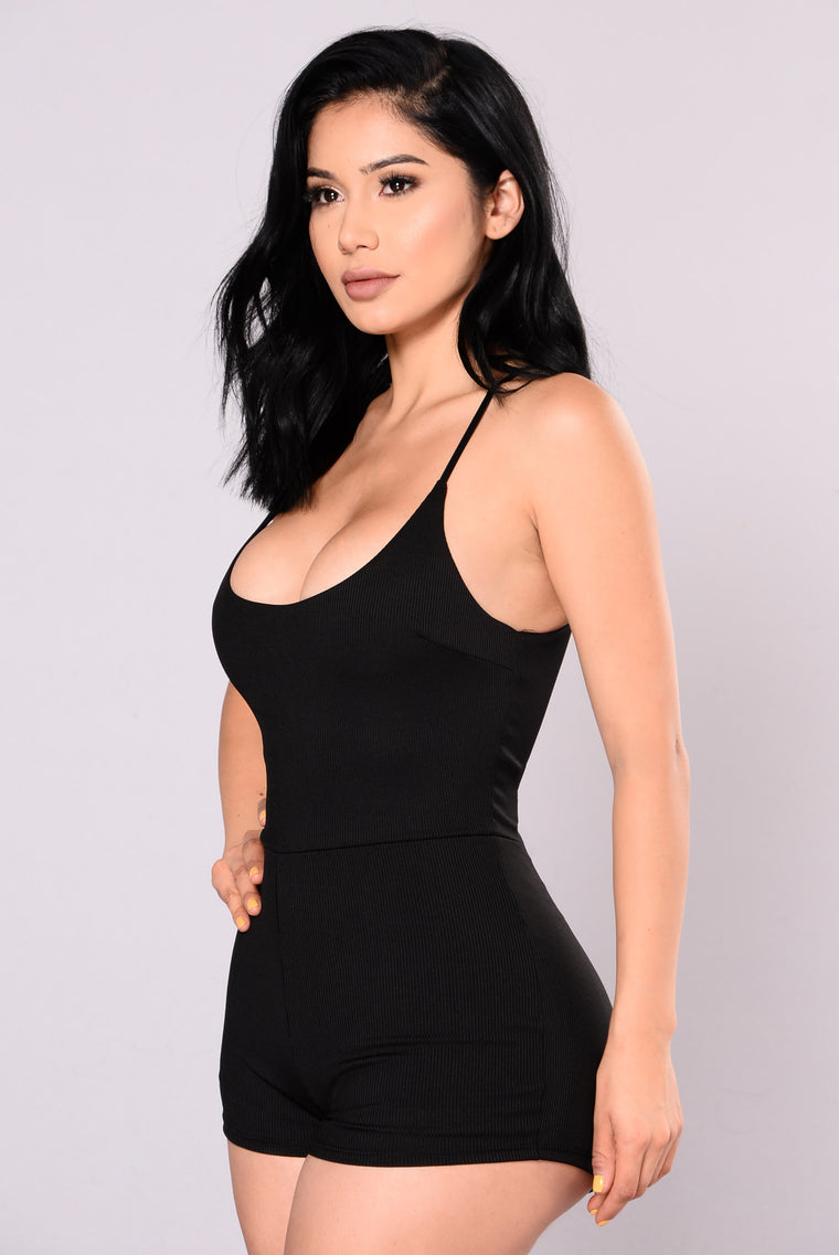 One And Only Romper - Black