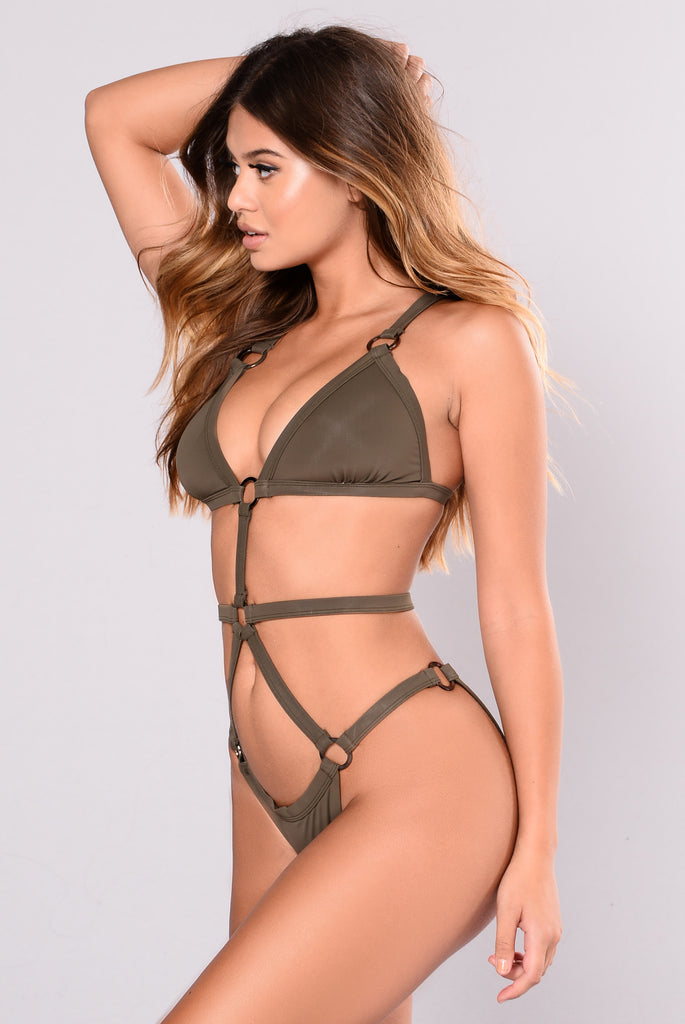 Courtney Swimsuit - Olive