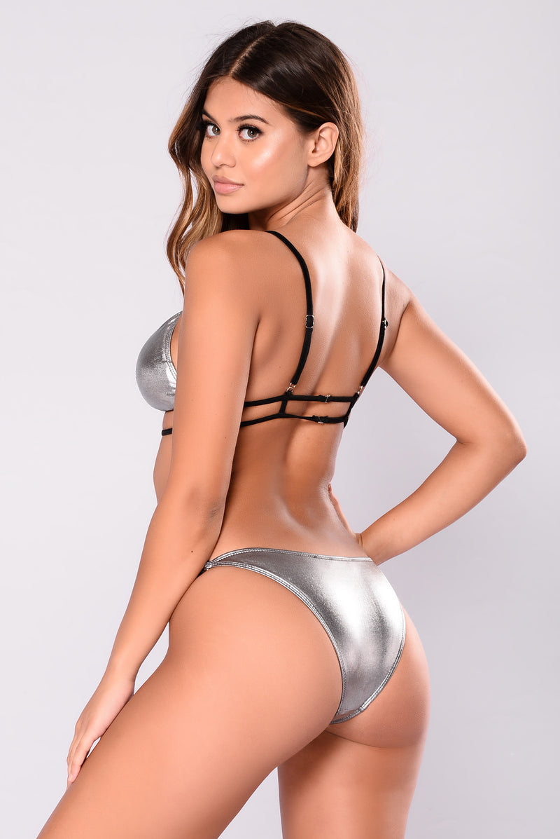 Addison Swimsuit - Silver