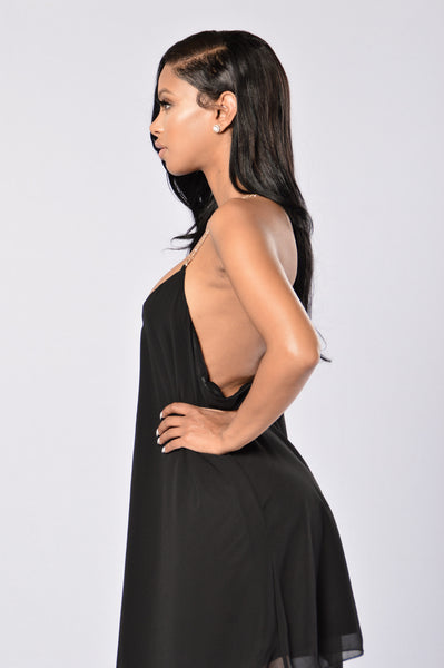 Chain Reaction Dress - Black