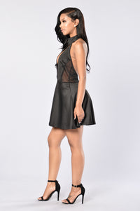 Bring It Dress - Black