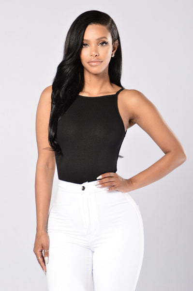 Cameo Bodysuit - Black