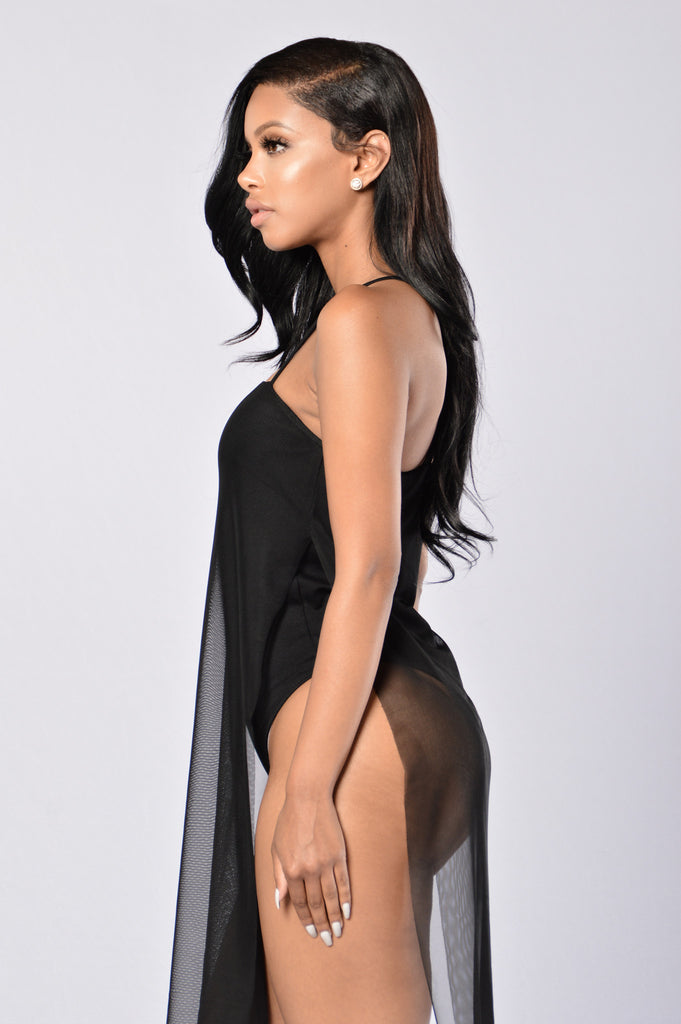 In Your Dreams Bodysuit - Black