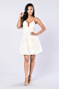 Madame Dress - White