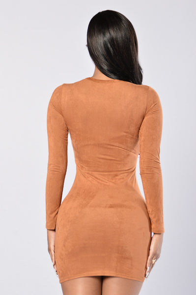 McKenna Dress - Taupe