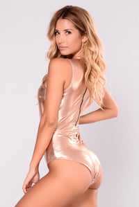 Jackie Swimsuit - Rose Gold