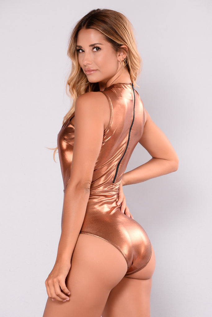 Jackie Swimsuit - Copper