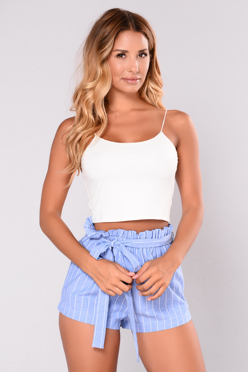Dare Me Shorts - Light Blue