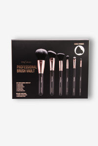 Profusion Cosmetics: Professional Brush Vault - Black/Gold Angle 2