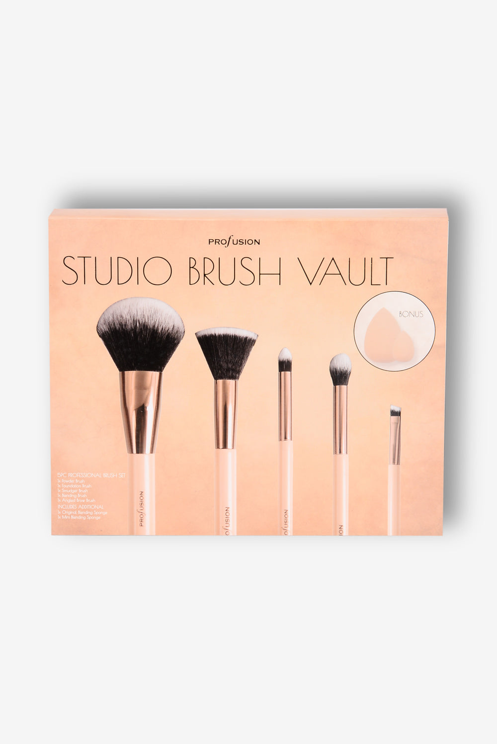 Profusion Cosmetics: Studio Brush Vault - Gold