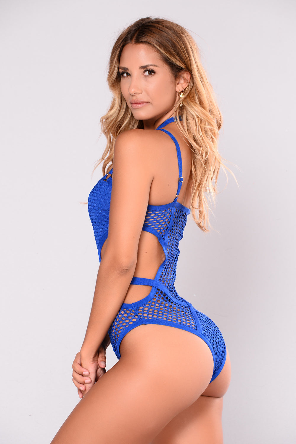 Santorini Swimsuit - Royal