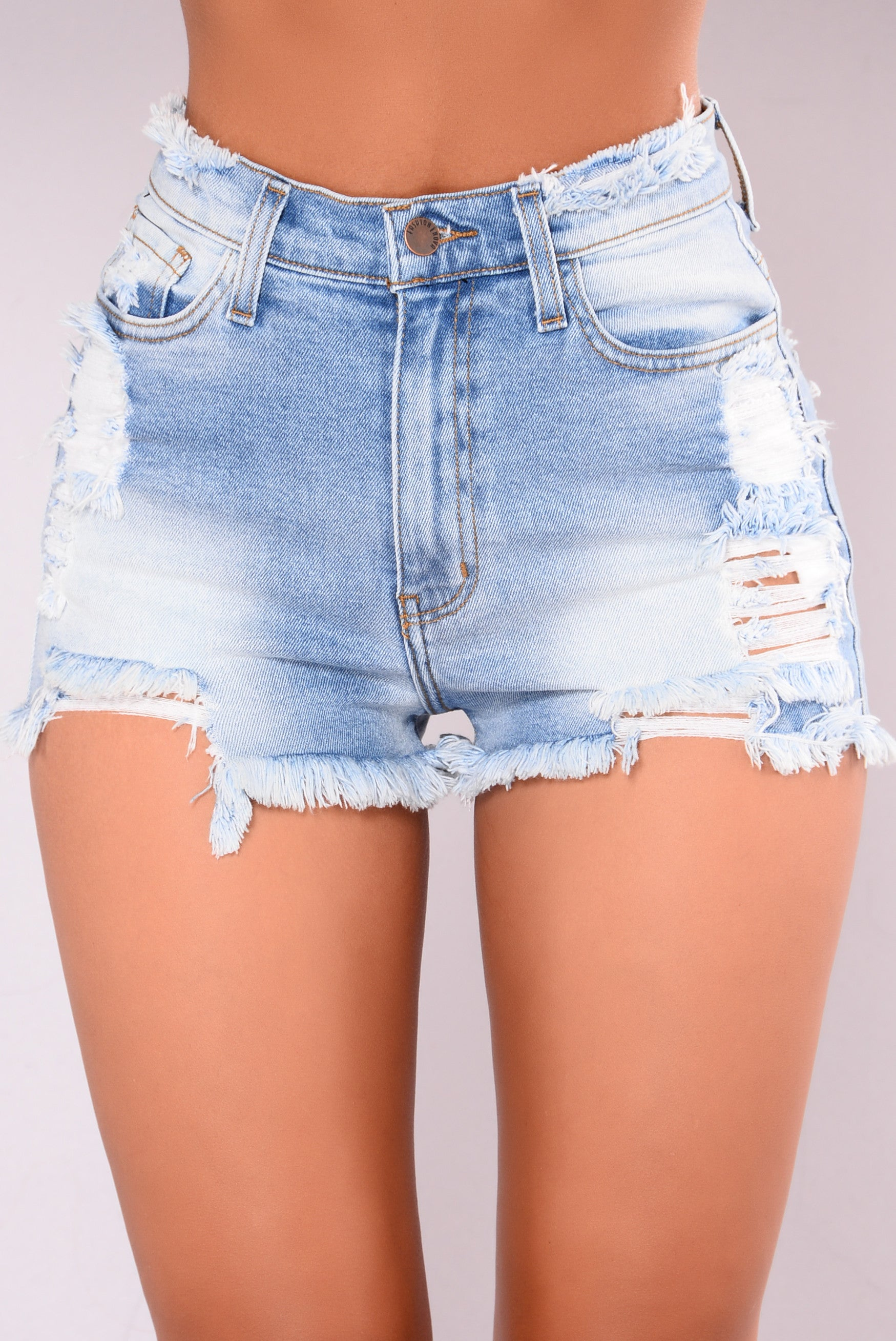 blue jean shorts for girls