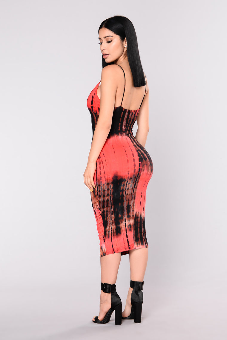 Body On You Dress - Red