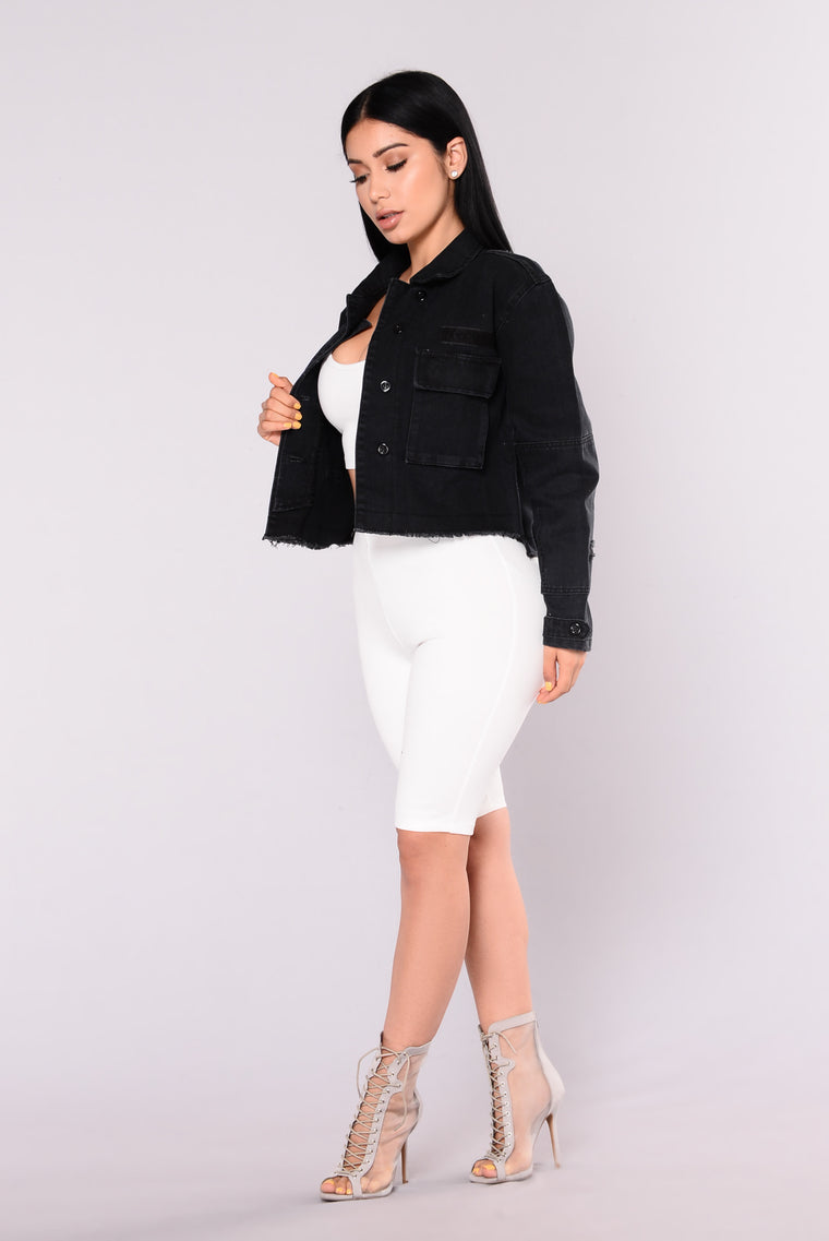 Lottie Jacket - Black