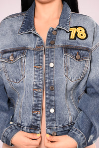 Rep Your Coast Denim Jacket - Carbon Wash