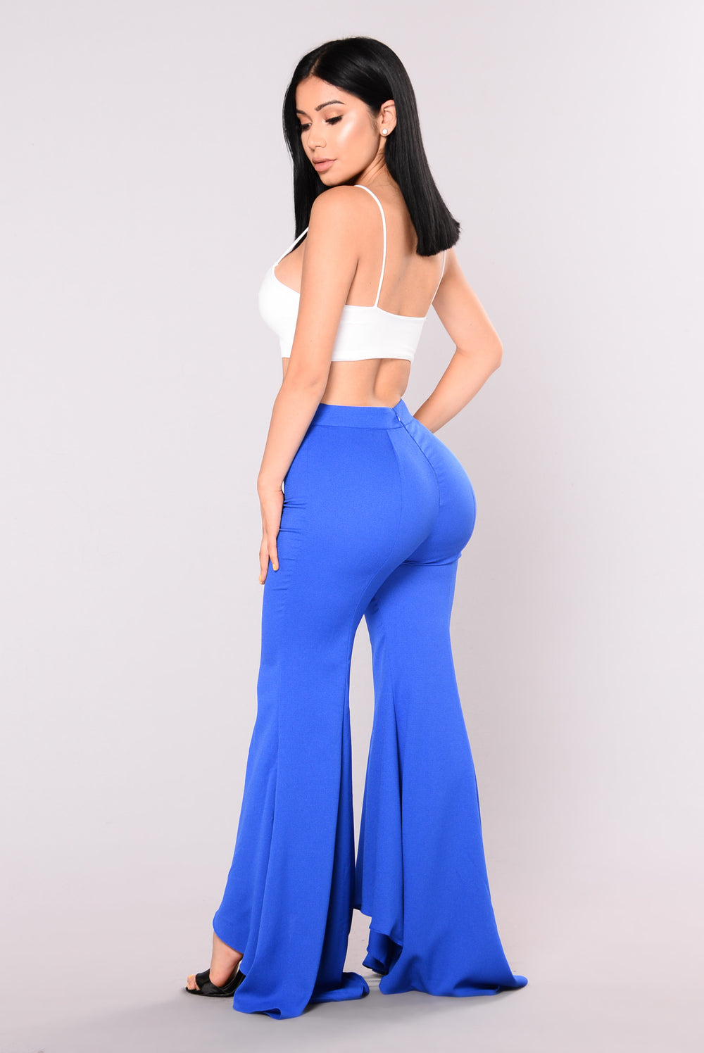 Sancia Wide Leg Pants - Royal